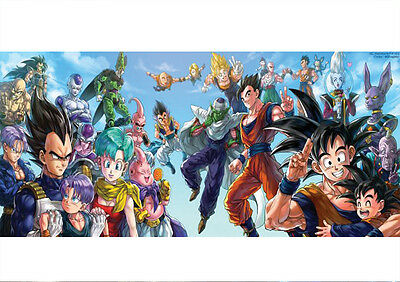 Sticker Poster A4 Manga Dragon Ball Z Room Deco.tous-All Perso Serie-Saga Dbz.