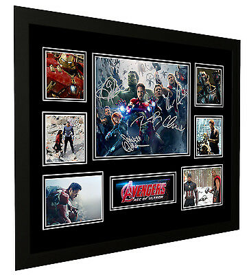 Avengers Age Of Ultron Signed Limited Edition Framed Memorabilia