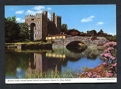 C1970's View of Bunratty Castle, County Clare, Eire.