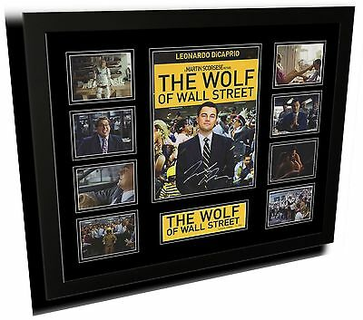The Wolf Of Wall Street Leonardo Dicaprio Signed Limited Edition Framed