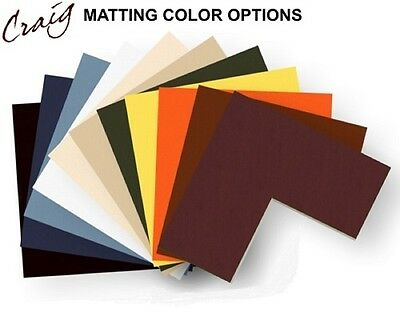 Craig Frames 24x36 Picture Frame Matting, Cream Core, Opening for 20x30 Image