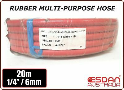 Air tool hose SUPERFLEX rubber alloy compressor 6mm x 20m Industrial Australia
