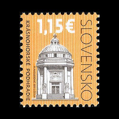 Slovakia 2015 - Cultural Heritage Andrassy Mausoleum Architecture - MNH