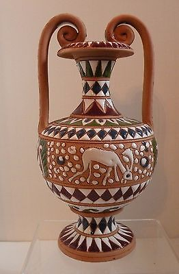 Dsa203 Ancient Greece Reproduction Pottery Urn With Handles