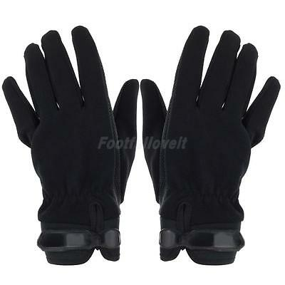 NEW Sports Anti-slip Rock Climbing Cycling Belay & Rappel Gloves Large Black