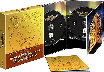 Saint Seiya Soul Of Gold Pack Blu Ray + Libro Exclusivo Nuevo ( Sin Abrir )