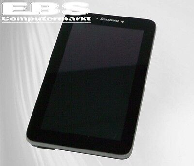 Lenovo A2107 Frontabdeckung + Touch-Panel + LCD + Dichtung Originale A-Ware