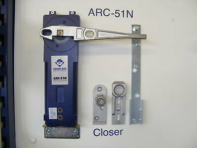 Adams Rite Concealed Transom Door Closer Heavy Spring  Hold Open - End Load