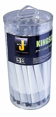 JWare Pre-Rolled KING Size Cones (100 Count) Rolling Paper