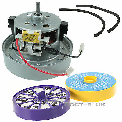 YV2200 YDK Type Vacuum Motor Fits Dyson DC07 & HEPA + Post Filter & Seal Kit