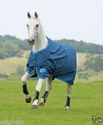 Shires Tempest No Fill Lite Lightweight Waterproof Horse Turnout Rug FREE P&P