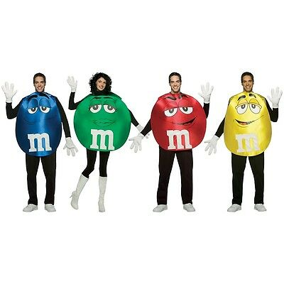 M&M Poncho Costume M&M's Halloween Fancy Dress