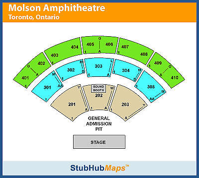 Zac Brown Band Tickets 09/04/15 (Toronto)