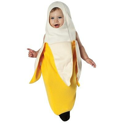 Peeled Banana Bunting Costume Halloween Fancy Dress