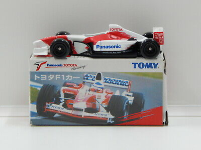 F1 Panasonic Toyota Racing with Decal Sheet - Made in China Tomica N/A