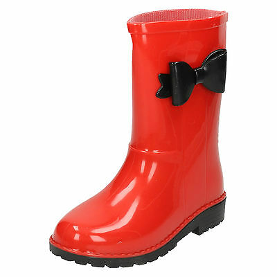 Wholesale Girls Wellington Boots 16 Pairs Sizes 10-2  X1199