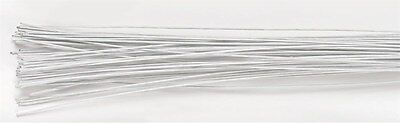 Culpitt FLORIST WIRE 28 gauge  sugar craft  flowers / white Next Day Despatch