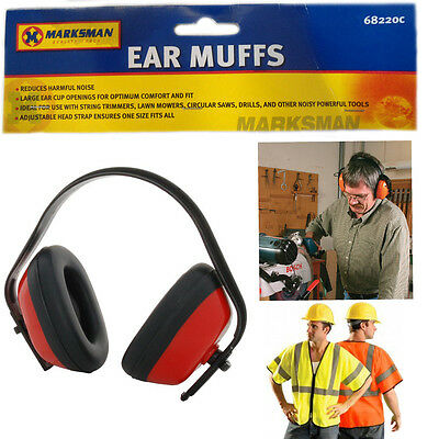DIY Noise Control Safety Ear Defender Muffs Plugs Cover Protection Adjustable