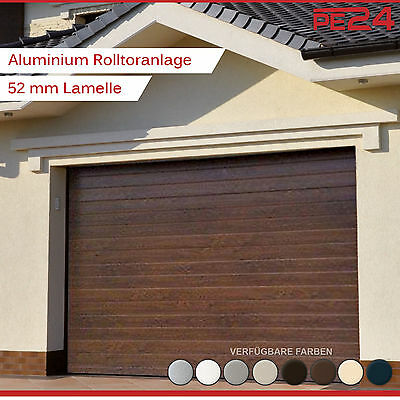 rolltor 2800 x 2000 mm tor tore garagentor elektrisch rolladen garage carport eur 490 00. Black Bedroom Furniture Sets. Home Design Ideas