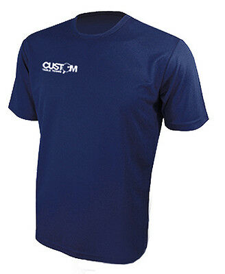 Custom Table Tennis Pro Match Shirt Navy Crazy Clearance Price! Uk Fast