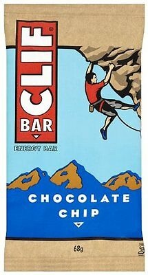 Clif Bar Chocolate Chip 68g (Pack of 12)