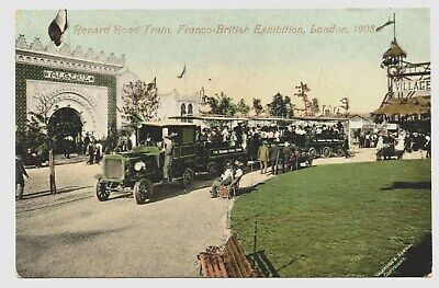 "Train Routier "" Renard "".exposition Universelle De Londres 1908.franco-British"