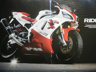 1998 Yamaha Yzf-R1 # Colour Article #  5 Pages