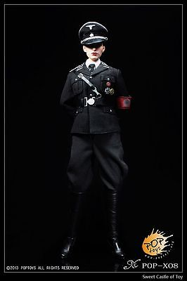 1/6 Pop Toys Accessory Set - WWII German Female Black Officer's Dress Suit X08