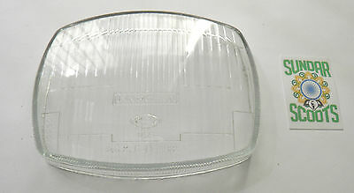 Gp Headlight Glass Lens. Innocenti &cev Markings. Suitable For Lambretta Scoots