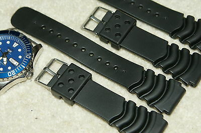 Rubber Divers High Quality Watch Strap For Citizen/Seiko heavy Grade 18-24mm