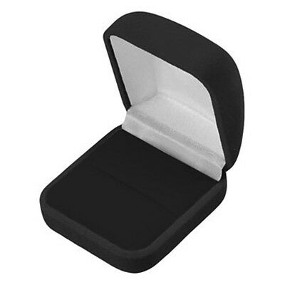 Wholesale Lot of 144 Black Velvet Ring Jewelry Packaging Display Gift Boxes LG