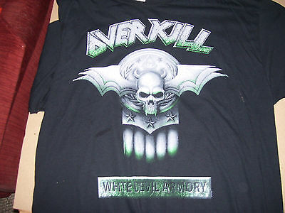 Overkill White Devil Armory  Springfield Event Tour Shirt Shirt Xl Super Shape