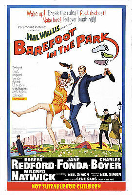 Barefoot  In The Park - Descalzos por el parque Movie Poster