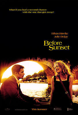 Before Sunset - Antes del atardecer Movie Poster