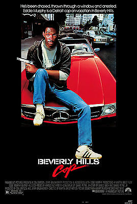 Beverly Hills Cop - Superdetective en Hollywood Movie Poster