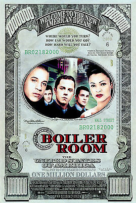 Boiler Room - El informador Movie Poster