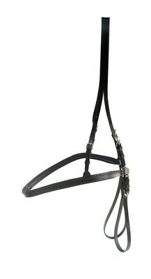 Leather Driving Harness Breaching,black Color In Full,cob,pony By Tintuklimited