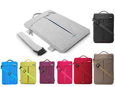 Waterproof Notebook Laptop Shoulder Carry Bag Case For Apple MacBook Air Pro MAC