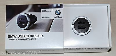Genuine BMW USB Cigarette Lighter Charger for iPhone iPod and other 65412166411