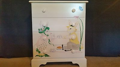 Hand painted children's dresser