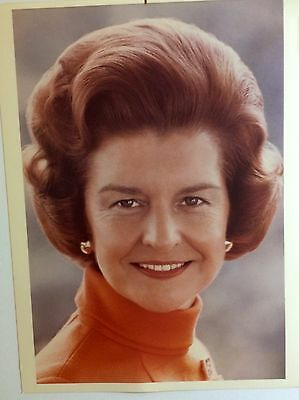 8x10 Official White House Portrait  First Lady Betty Ford wife of Gerald R. Ford