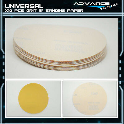Disc 800 Grit 5 PSA Auto Sanding Paper Sheets Repair Sandpaper Magic Tape 10Pcs