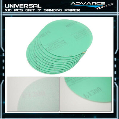 Disc 1200 Grit 5 PSA Green Auto Sanding Paper Sheets Magic Tape Repair Sand 10Pc