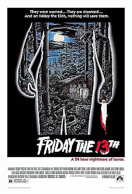 Friday The 13th - Viernes 13 Movie Poster