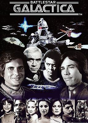 Galactica TV Television Series Poster