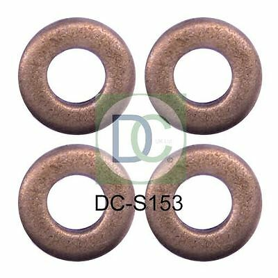 Peugeot 207 1.6 HDi Bosch Common Rail Diesel Injector Washers Seals Pack of 4