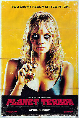 Grindhouse Planet Terror Movie Poster