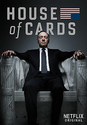 House of Cards TV Television Series Poster