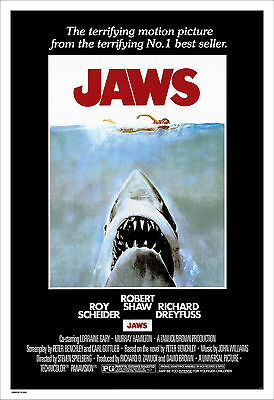 Jaws - Tiburón Movie Poster