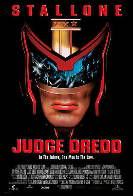 Judge Dredd - Juez Dredd Movie Poster